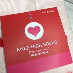 Target Accessories - Porcupine Cupid w/ Hearts Knee High 2 pack socks